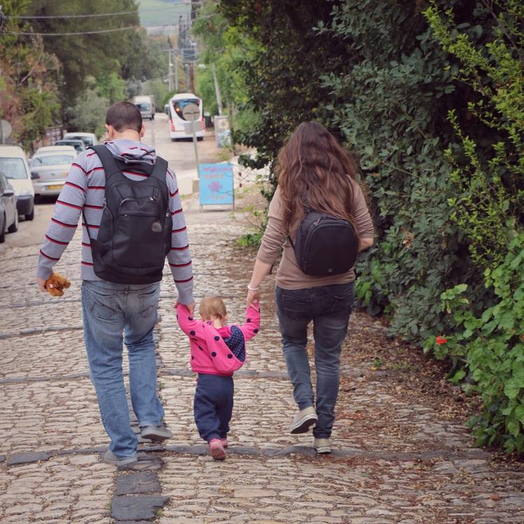 משפחה. צילום: עידו סמיוני