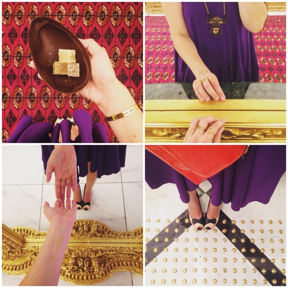 תליון רובוט - Liza צמיד - New Habit Jewelry  טבעות - HotCrown
