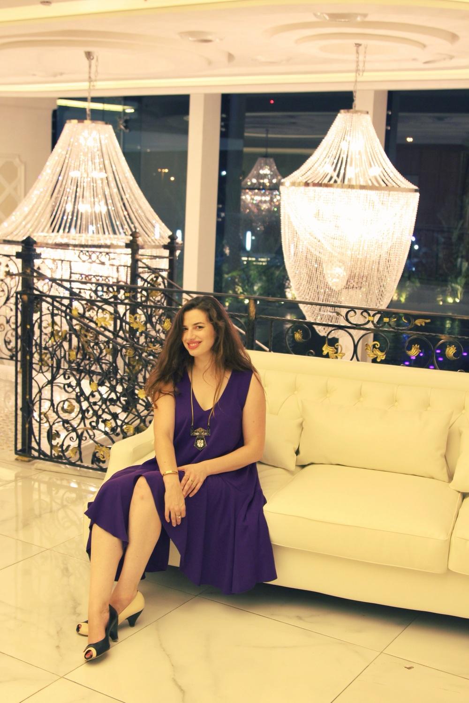 שמלה - Dana Sidi נקנתה ברזילי. נעלי ברבור -שני בר