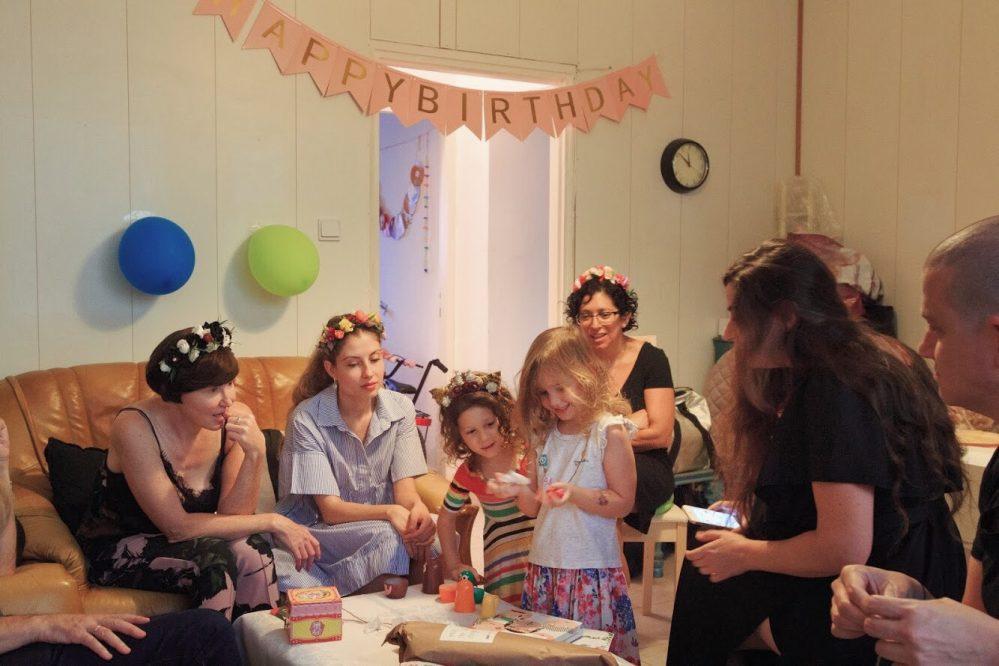 פתיחת מתנות יום הולדת