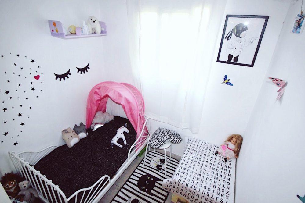 עיצוב חדר ילדים קטן